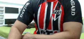 Sao Paulino hétero na webcam
