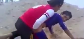 Garotos árabes tentando foder