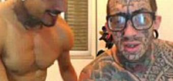 Andre Ferraz Fode Dito na Webcam