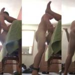 Preso com tornozeleira fudendo boy