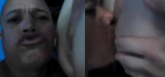 Casado chupa o cu do amante