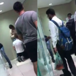 Pegação gay flagrada no banheiro