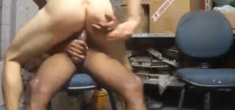 Sexo gay gostoso com cafuçu dotado