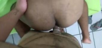 Gay Gemendo na pica grande do Carioca